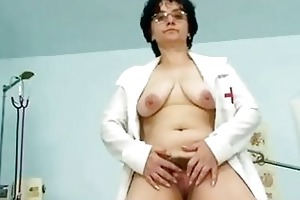 old lady head nurse kinky hairy cum-hole spr ...