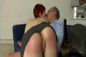 luckiest old dude fucks the marvelous british