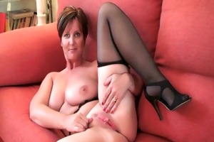 spruce grandma fun receives fingered and
