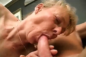 hairy granny wang sucks and gets screwed
