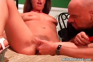 old and sexy mother i got her unshaved snatch