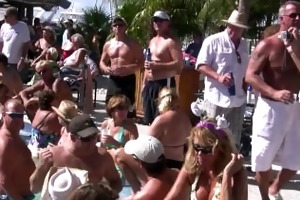 swinger nudist pool party key west florida for