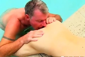hot gay brett anderson is one fortunate daddy,