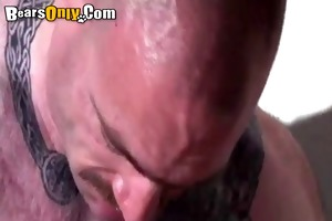 tattooed meaty dad dog style fuck