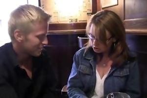 he is brings drunk bitch home to bang her mature