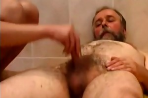 father and daughter have sex in baths