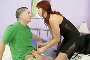 nikki hunter receives drilled by her step son