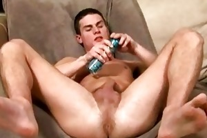 young twink busts his nuts out