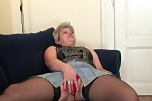 naughty granny takes cocks