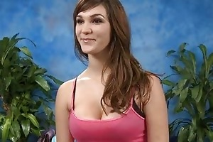 sexy 18 year old gril receives drilled hard