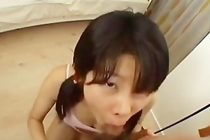 youthful japanese teen anal screwed hard