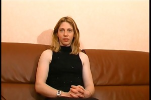 youthful french bitch sodomized and cum covered