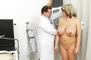 massive natural melon size titties at obgyn