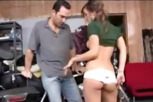 college girl melanie rios gets drilled by her