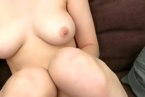 youthful angel banging first time on camera