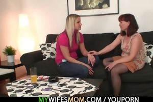 redhead mom is screwed by her son in law