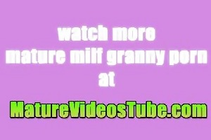 blonde old older lady hairless and drilled