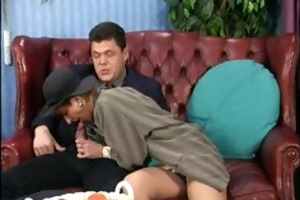 old playgirl fucking and engulfing an old cock