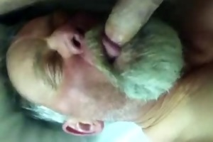 dad blowing strangers dong