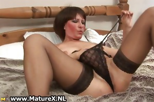 dirty old mom in sexy underware fucking part5