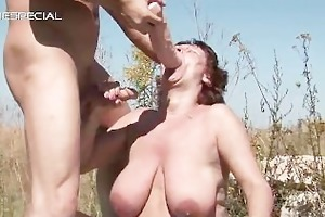 aroused mother i getting her bushy muf part5