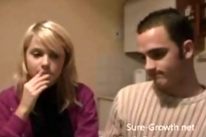 dissolute step sister takes the dare