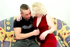 old golden-haired d like to fuck fucks young guy