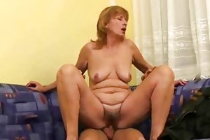 russian mamma makes it is with younger guy