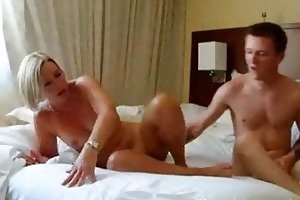 sexy mature blond mother i hawt suz fucks her