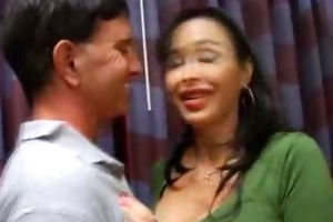 breasty milf adrianna penis sucks her man