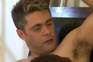 felipe todenzzo: daddy ramrod plugging a twinky