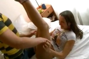 legal age teenager delights from eastern russia