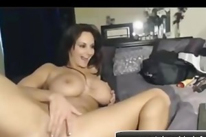 wife big billibongs on webcam