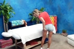 blonde girl hardcore fucking caught on massage