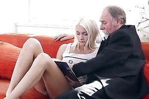 tanya surprised by the old mans sexual strength