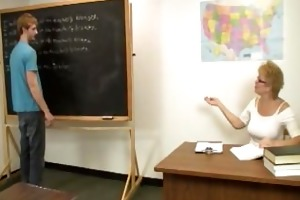 teacher denies big o