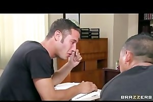 sexy busty school teacher fucks her students