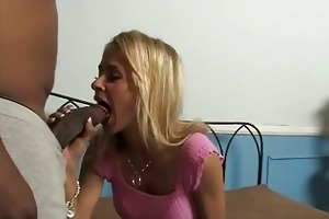 pretty mother gets laid by a black guy