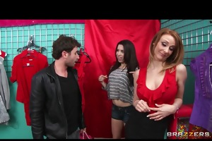 madison fox seduces a younger man away from his gf