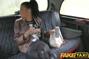 faketaxi free ride for backseat blow job