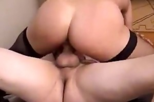 dark daughter take huge inches of cock
