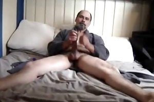 big-dicked dad home alone