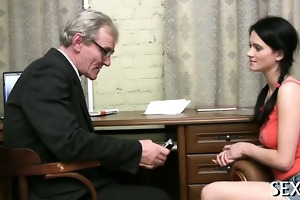 appealing anal job with teacher