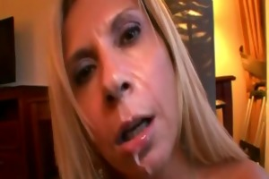 mama sucks cum out of rod pov style