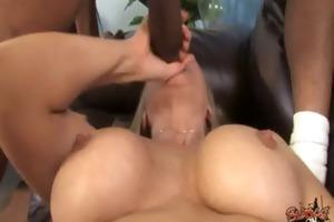 cougar with big tits seduces young black lad 14