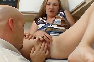 sexy wife gangbang hard in the kitchen