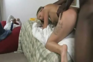 young daughter with nice ass drilled by a