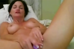 cum-hole toying mother i on cam
