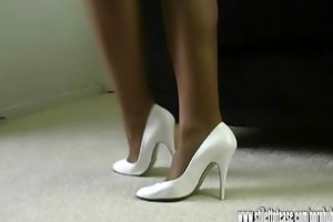 horny leggy milf talks dirty to you about cumming