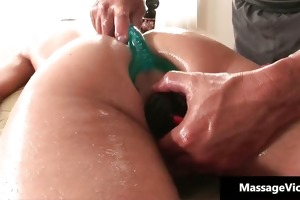 filthy youthful gay boy receives a massage part3